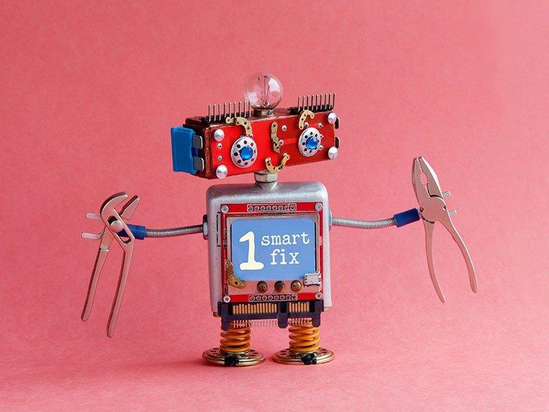 Web design agency robot one fix