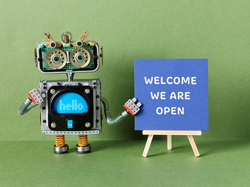 WordPress Website Development - Welcome we are open